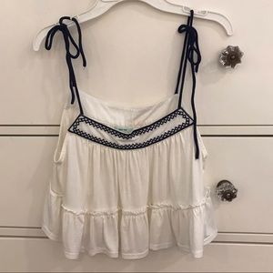 Nordstrom Tops - URBAN OUTFITTERS flowy tank top with tie straps